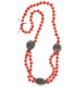 Collier DIANA Rouge